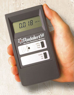 A picture of IDR-Radalert 100 (geiger counter)