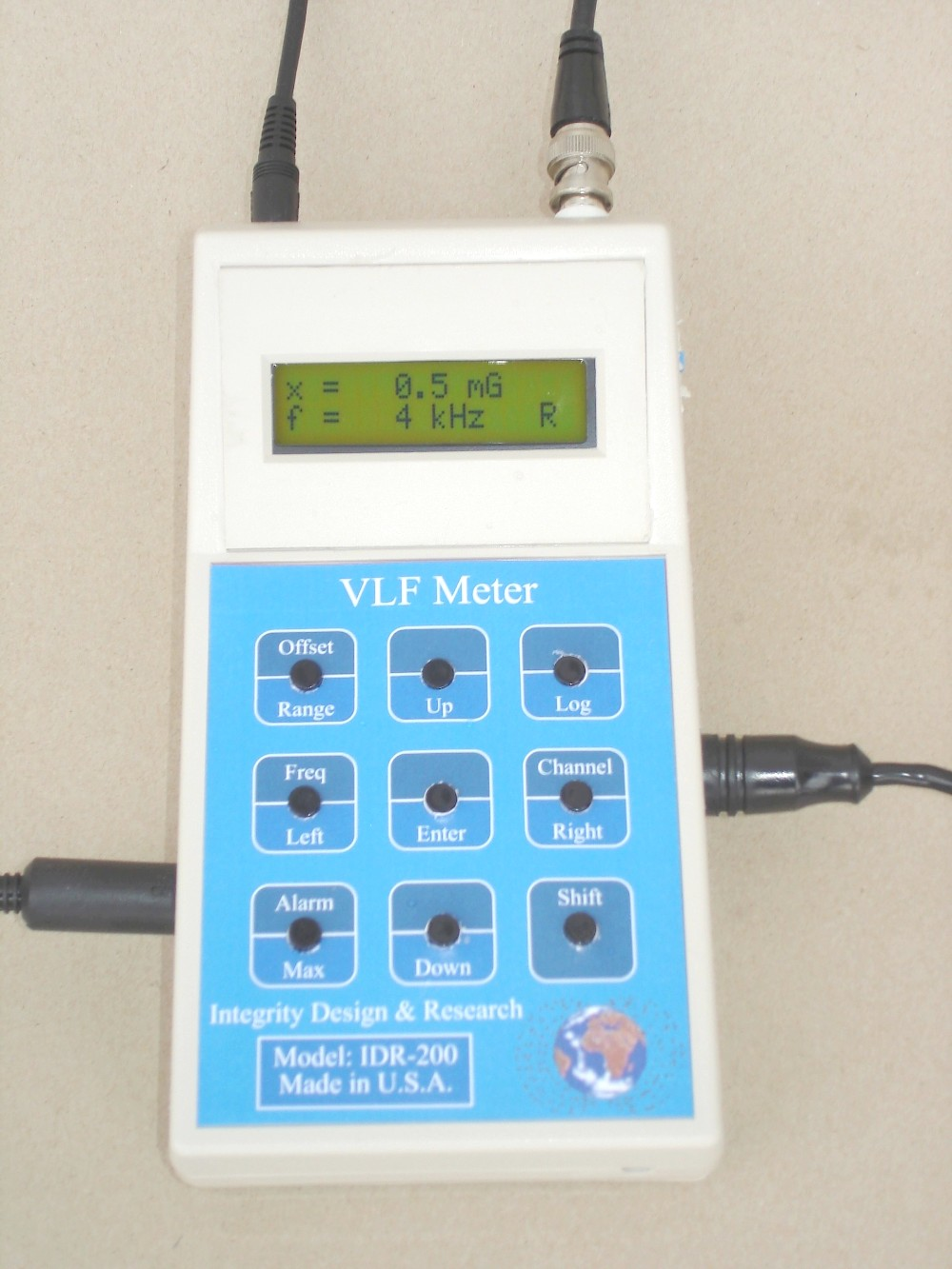 A picture of IDR-200 : VLF Gaussmeter